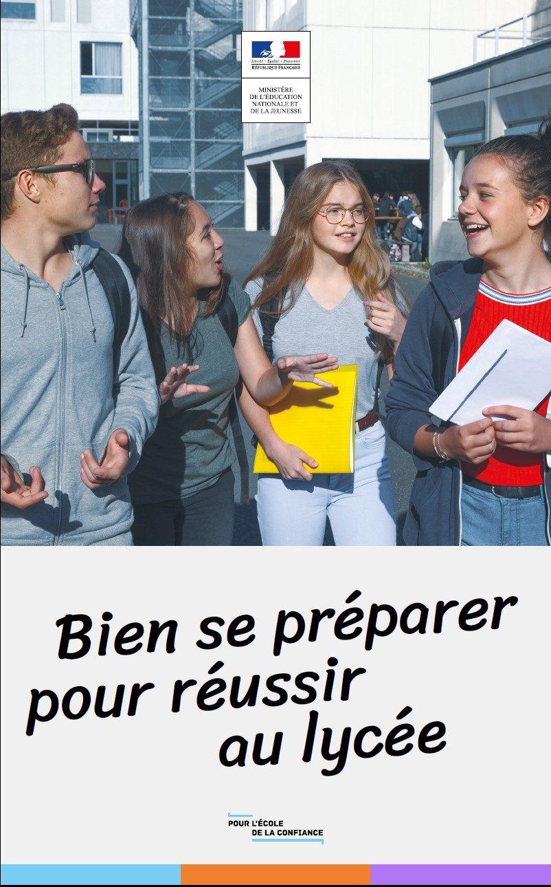 """Résultat de recherche d'images pour """"bien se préparer pour réussir au lycée"""""""""""